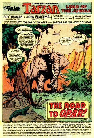 File:Tarzan Vol 1 2 The Road to Opar.jpg