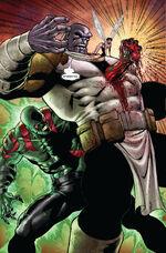 Arthur Douglas and Thanos (Earth-616) from Annihilation Vol 1 4 0001.jpg