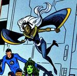 Ororo Munroe (Earth-9411) Spectacular Spider-Man (UK) Vol 1 154