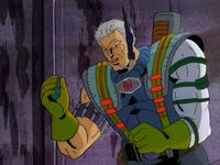 Nathan Summers (Earth-13393) with Cable's Computer from X-Men- The Animated Series Season 2 7 002