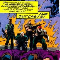 Outcasts (Mercenaries) (Earth-616) from Alpha Flight Vol 1 122 001