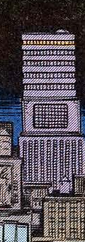 Baxter Building (Earth-811) from Uncanny X-Men Vol 1 142 0001