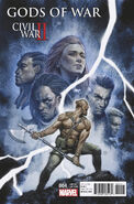 Civil War II Gods of War Vol 1 4 Tedesco Variant