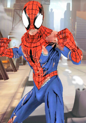 File:Peter Parker (Earth-TRN461) from Spider-Man Unlimited (video game) 056.jpg