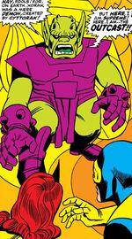 Xorak (Earth-616) from X-Men Vol 1 33 0001