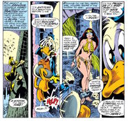 Howard the Duck and Beverly Switzler from Howard the Duck Vol 1 1 003