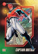 Brian Braddock (Earth-616) from Marvel Universe Cards Series III 0001