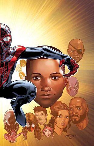 File:Ultimate Spider-Man Vol 1 200 Marquez Variant Textless.jpg