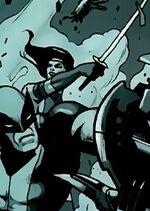Elizabeth Braddock (Earth-10710) from X-Men Blind Science Vol 1 1 0001