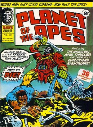 Planet of the Apes (UK) Vol 1 22