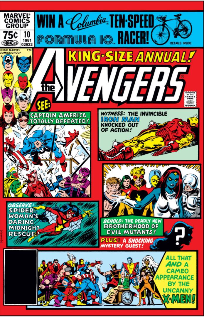 Avengers Annual Vol 1 10 Marvel Database Fandom border=