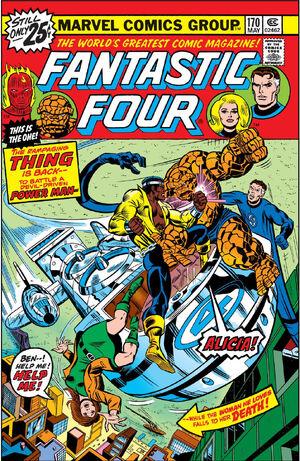 Fantastic Four Vol 1 170