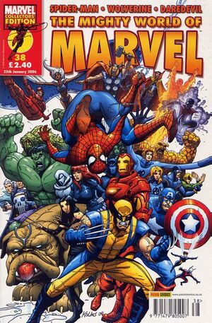 Mighty World of Marvel Vol 3 38