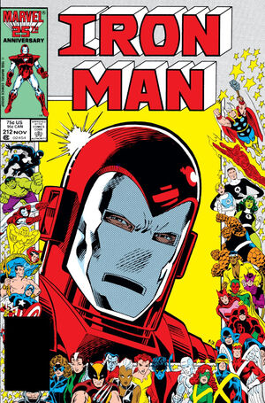 Iron Man Vol 1 212