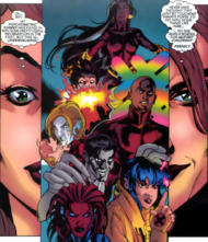 Adrienne Frost (Earth-616) and Generation X (Earth-616) from Generation X Vol 1 49 0001