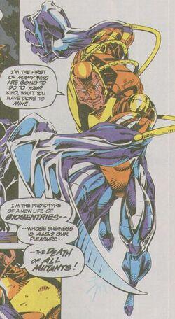 Hardaway (Cyborg) (Earth-616) from X-Force Vol 1 27 0001