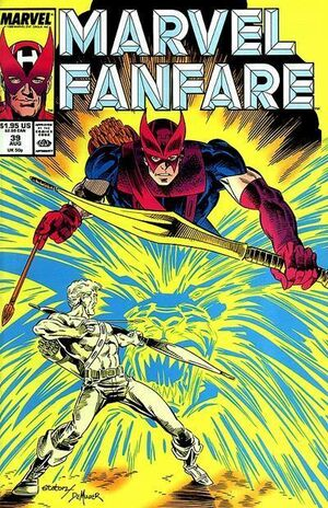 Marvel Fanfare Vol 1 39