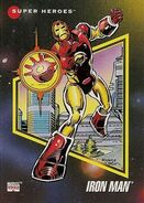 Anthony Stark (Earth-616) from Marvel Universe Cards Series III 0001