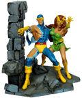 Jean Grey & Cyclops bowen statue