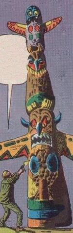 Totem Creature (Earth-616) from Strange Tales Vol 1 74