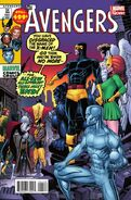 Avengers Vol 5 24.NOW X-Men as Avengers Adams Variant