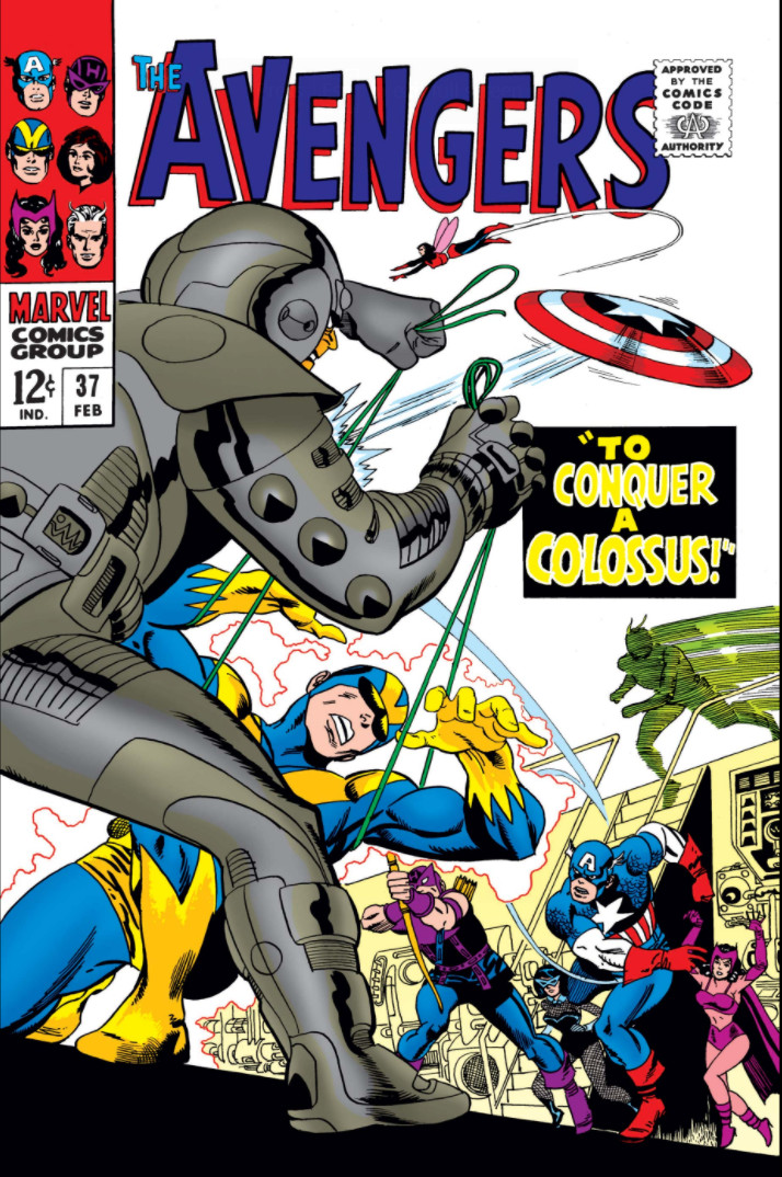 Avengers Vol 1 37