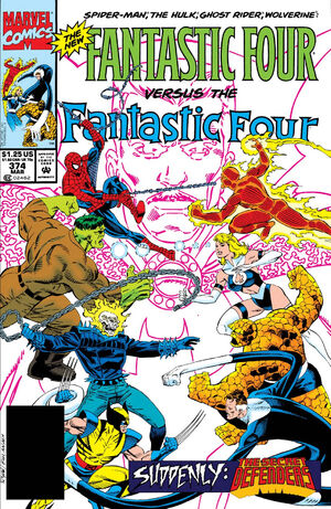 Fantastic Four Vol 1 374
