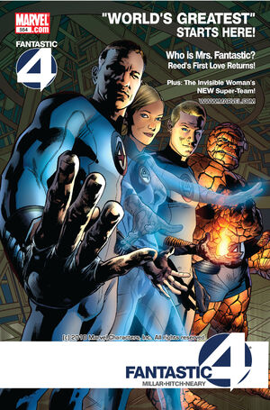 Fantastic Four Vol 1 554