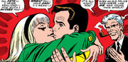 Peter Parker (Earth-616) first kiss with Gwen Stacy from Amazing Spider-Man Vol 1 59