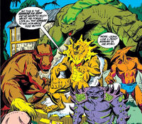 Saur Lords (Earth-616) from Captain America Vol 1 414 0001