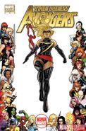 New Avengers Vol 2 3 Women of Marvel Variant