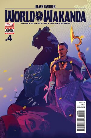Black Panther World of Wakanda Vol 1 4