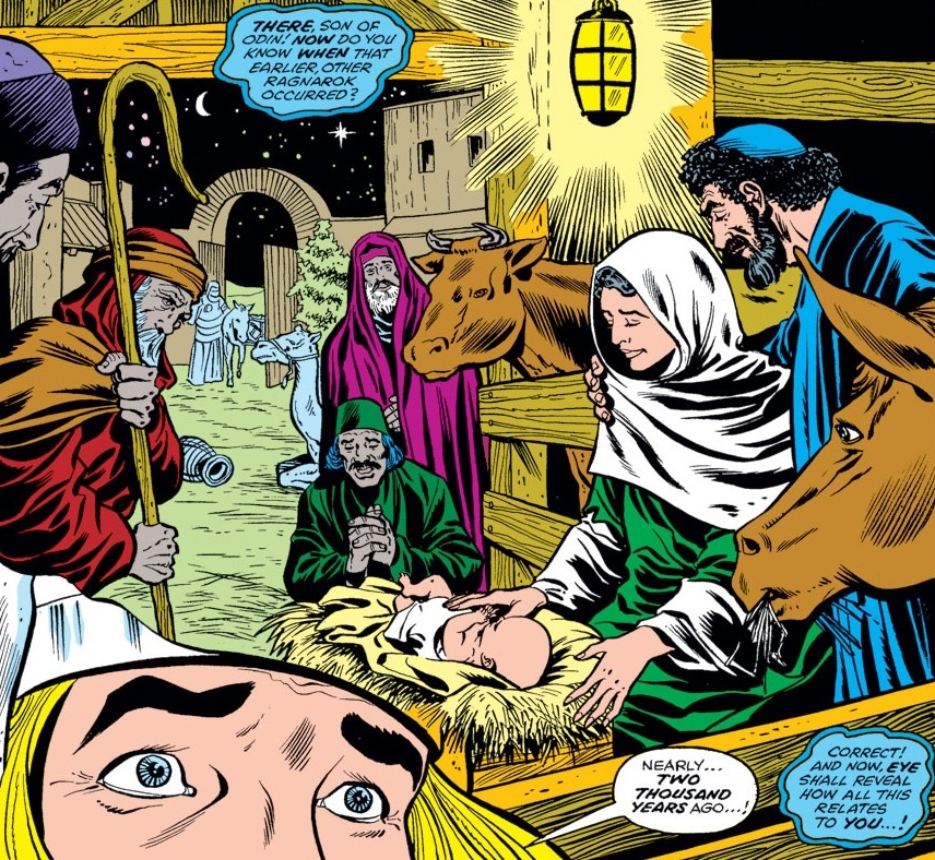 Lucifer Zombie Wedding: Jesus Of Nazareth (Earth-616) From Thor Vol 1 293