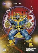 Thanos (Earth-616) from Marvel Universe Cards Series III 0001