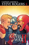 Captain America Steve Rogers Vol 1 4 Textless