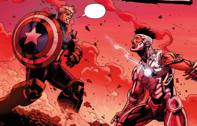 Steve Rogers and Tony Stark (Earth-616) from Avengers Vol 5 44.png