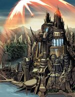 A.I.M. Island from Avengers World Vol 1 1