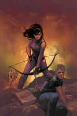 All-New Hawkeye Vol 2 5 Women of Power Variant Textless