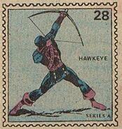 Hawkeye Marvel Value Stamp