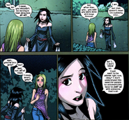 Nico Minoru (Earth-616) Karolina Dean (Earth-616) Runaways Vol 2 7
