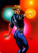 Alison Blaire (Earth-616) from Ultra X-Men (Trading Cards) 1995 Set 0001