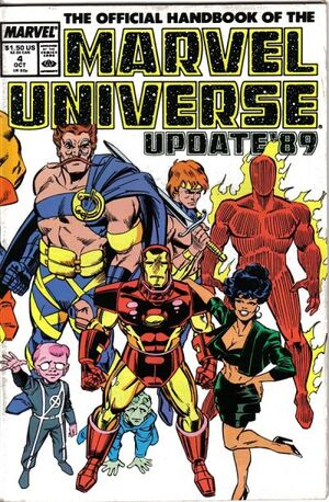 Official Handbook of the Marvel Universe Vol 3 4