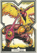Rachel Summers (Earth-811) and Cain Marko (Earth-616) from Excalibur Trading Cards 0001