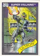 Ultron (Earth-616) from Marvel Universe Cards Series I 0001