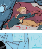 Carol Danvers (Earth-55) from Civil War II Choosing Sides Vol 1 2 001