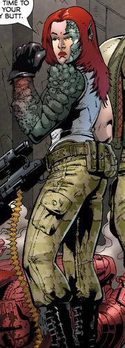 Nichole Martin (Earth-616) from World War Hulk Gamma Corps Vol 1 1 0001