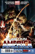 Captain America Vol 7 3 Second Printing