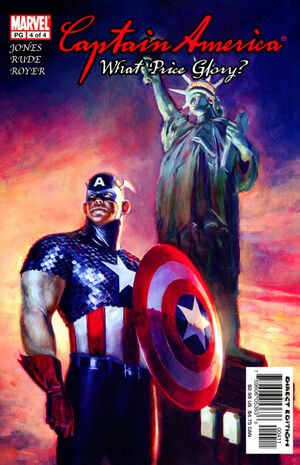 Captain America What Price Glory Vol 1 4
