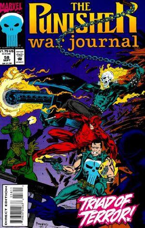 Punisher War Journal Vol 1 58