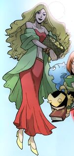 Idunn (Earth-5631) Thor and the Warriors Four Vol 1 4